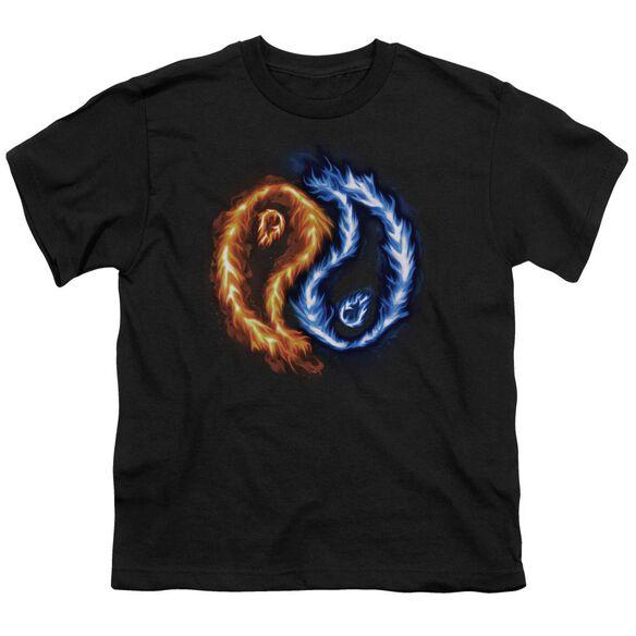 Flame Yang Short Sleeve Youth T-Shirt