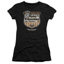 Night Ranger Motorin Short Sleeve Junior Sheer T-Shirt