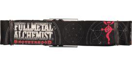 Fullmetal Alchemist Title Flamel Seatbelt Belt