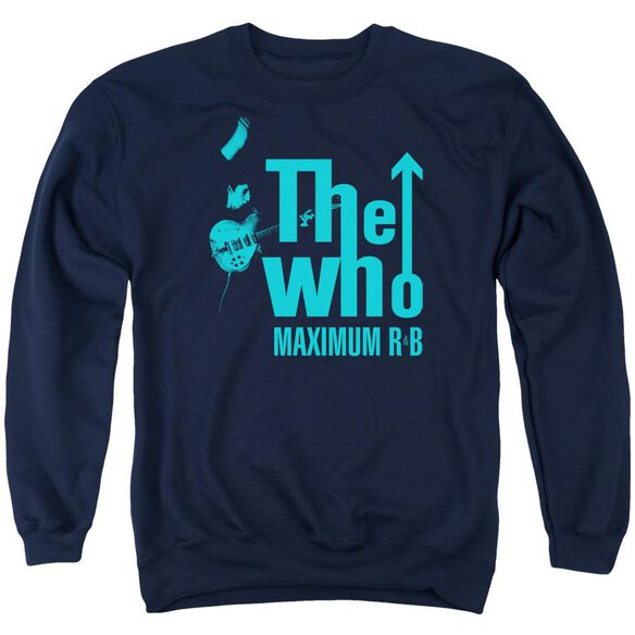 The Who Maximum R&B Adult Crewneck Sweatshirt