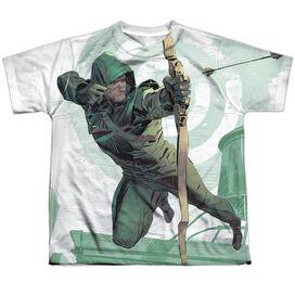 Arrow City Bullseye Short Sleeve Youth Poly Crew T-Shirt
