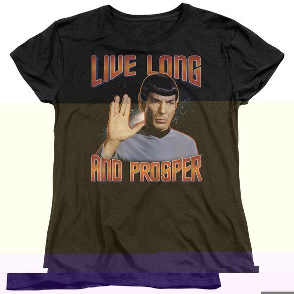 ST ORIGINAL LIVE LONG AND PROSPER - S/S WOMENS TEE T-Shirt