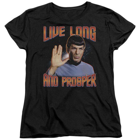St Original Live Long And Prosper Short Sleeve Womens Tee T-Shirt