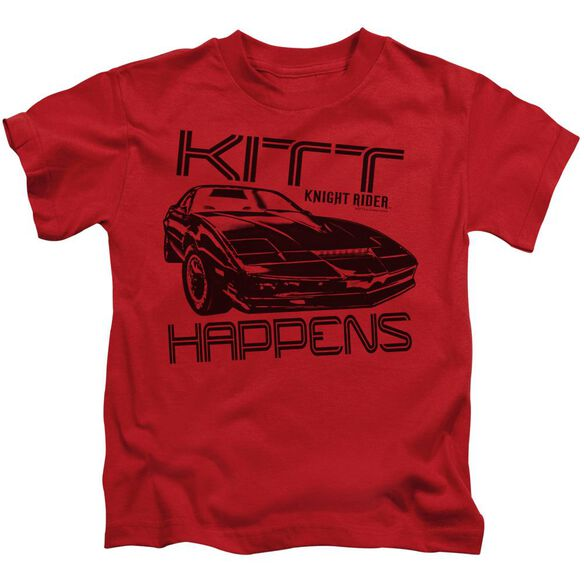 Knight Rider Kitt Happens Short Sleeve Juvenile T-Shirt