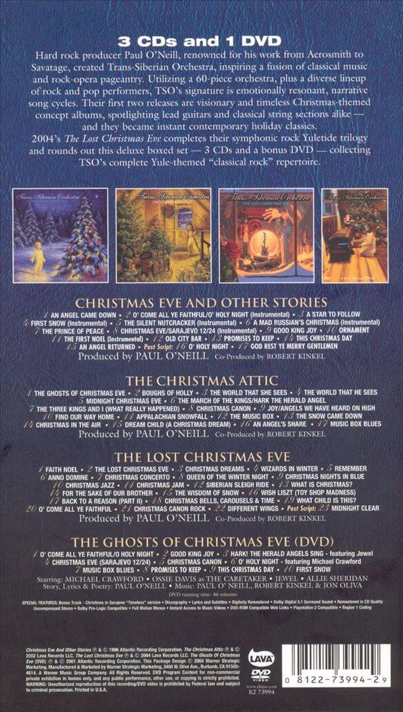 Christmas Trilogy (W/Dvd)