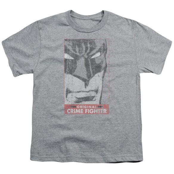 Batman Orginal Crime Fighter Short Sleeve Youth Athletic T-Shirt