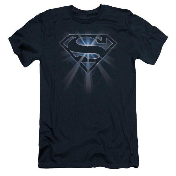 SUPERMAN GLOWING SHIELD-S/S T-Shirt