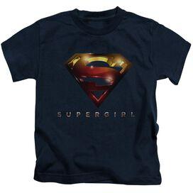 Supergirl Logo Glare Short Sleeve Juvenile T-Shirt