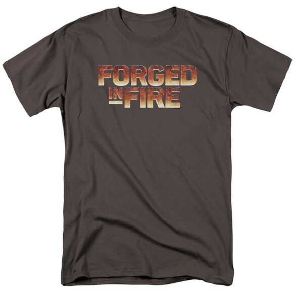 Forged In Fire Forged In Fire Logo Short Sleeve Adult T-Shirt