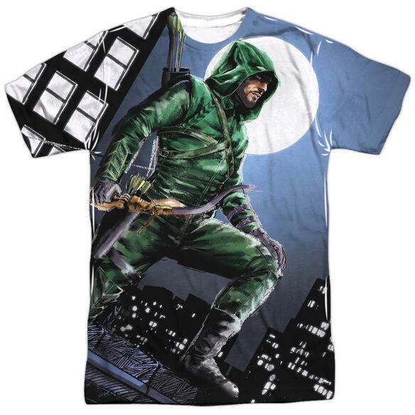 Arrow Night Watch Short Sleeve Adult Poly Crew T-Shirt