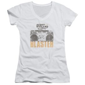 Scott Weiland Blaster Junior V Neck T-Shirt