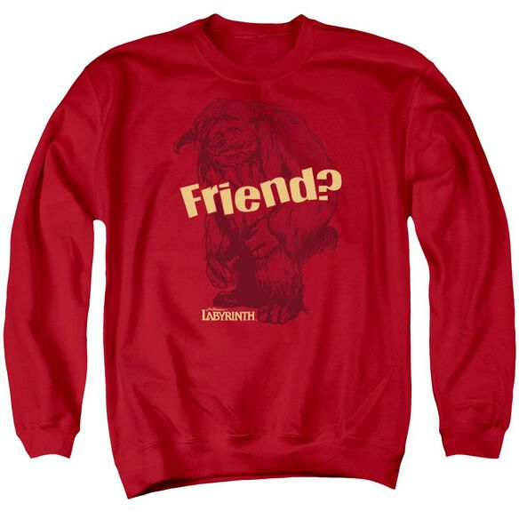 Labyrinth Ludo Friend Adult Crewneck Sweatshirt