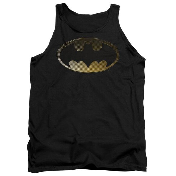 Batman Halftone Bat Adult Tank