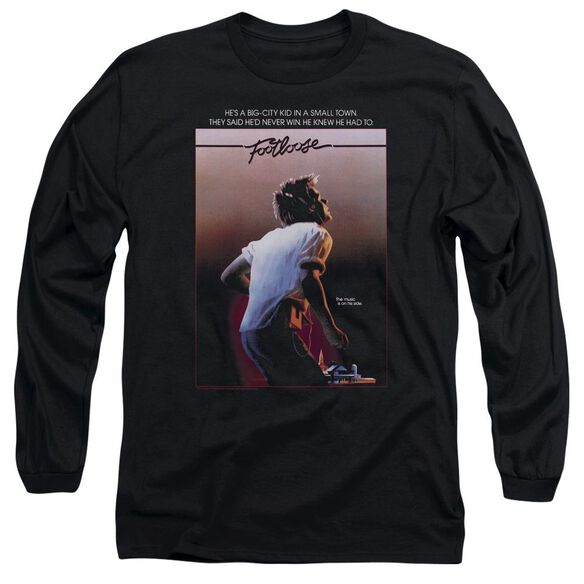 Footloose Poster Long Sleeve Adult T-Shirt