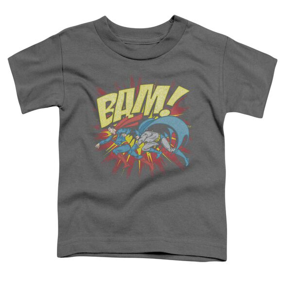 Dc Bam Short Sleeve Toddler Tee Charcoal Lg T-Shirt