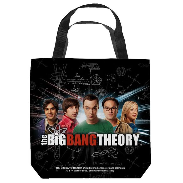 Big Bang Theory Group Spark Tote