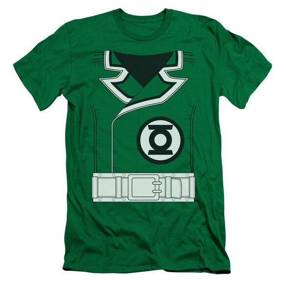 Lantern Guy Gardner Short Sleeve Adult Kelly T-Shirt
