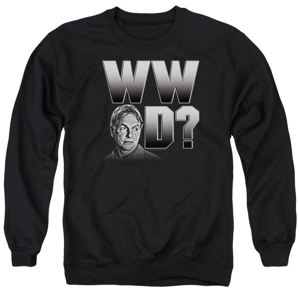 Ncis What Would Gibbs Do Adult Crewneck Sweatshirt