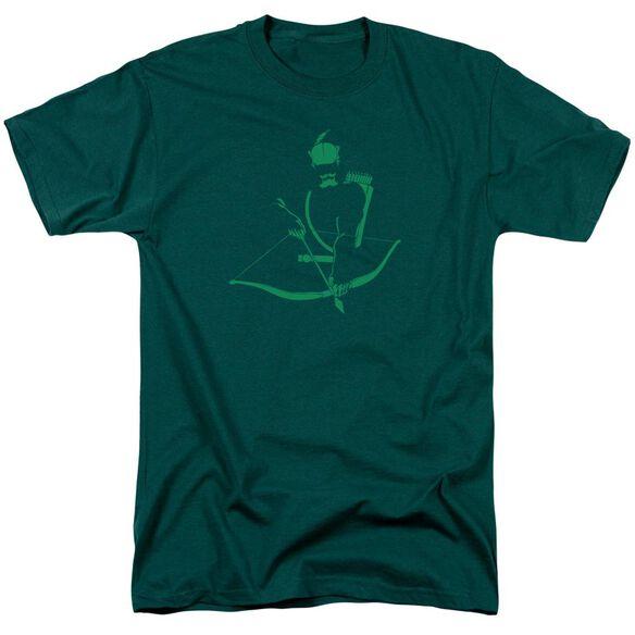 Dc Arrow Min Short Sleeve Adult Hunter Green T-Shirt