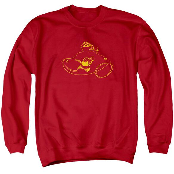 Dc Wonder Min Adult Crewneck Sweatshirt