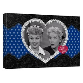 I Love Lucy Lace Of Friendship Quickpro Artwrap Back Board