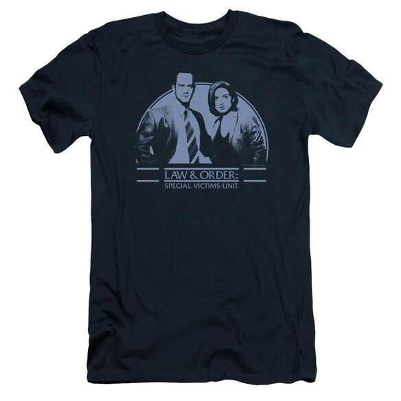 Law And Order Svu Elliot And Olivia Short Sleeve Adult T-Shirt
