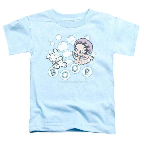 Betty Boop Baby Bubbles Short Sleeve Toddler Tee Light Blue Md T-Shirt