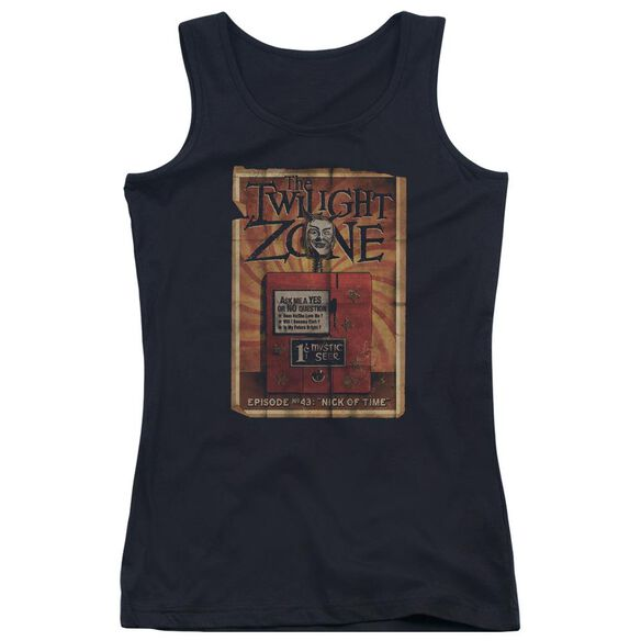 Twilight Zone Seer Juniors Tank Top