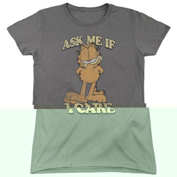 GARFIELD ASK ME-S/S T-Shirt