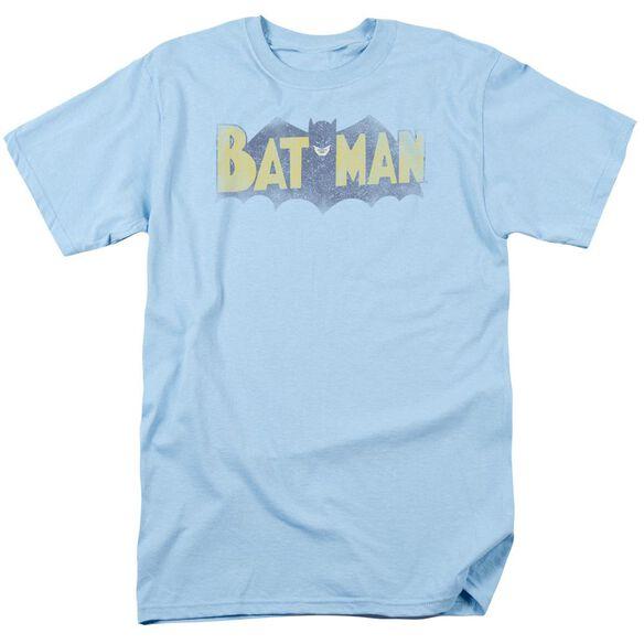 Batman Vintage Logo Short Sleeve Adult Light T-Shirt