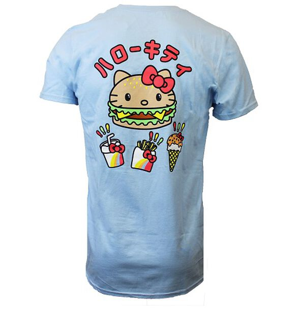 Hello Kitty Burger Head T-Shirt