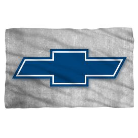 Chevrolet Simple Vintage Bowtie Fleece Blanket