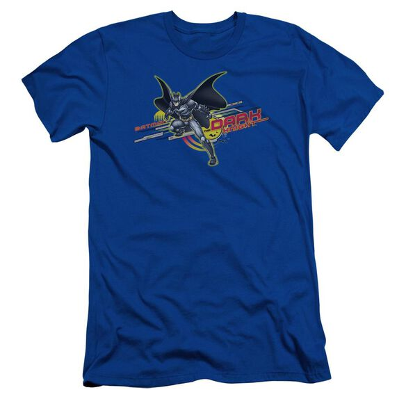 Dark Knight Knight Tech Short Sleeve Adult Royal T-Shirt