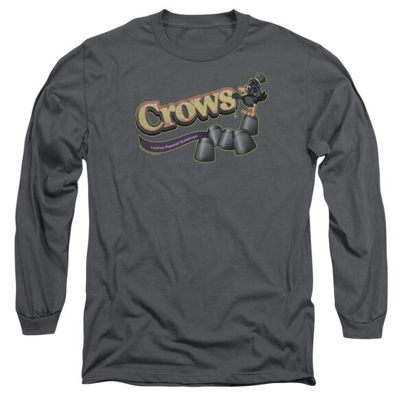 Tootise Roll Crows Long Sleeve Adult T-Shirt