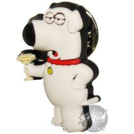 Family Guy Brian Martini Pin Pvc