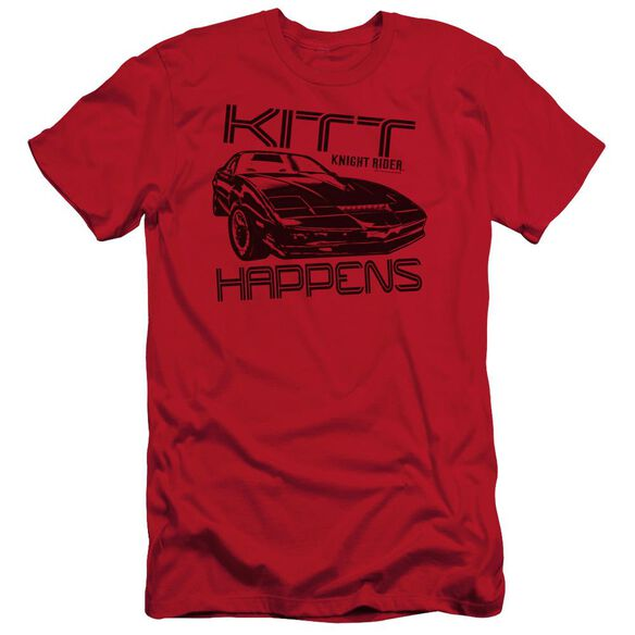 Knight Rider Kitt Happens Short Sleeve Adult T-Shirt