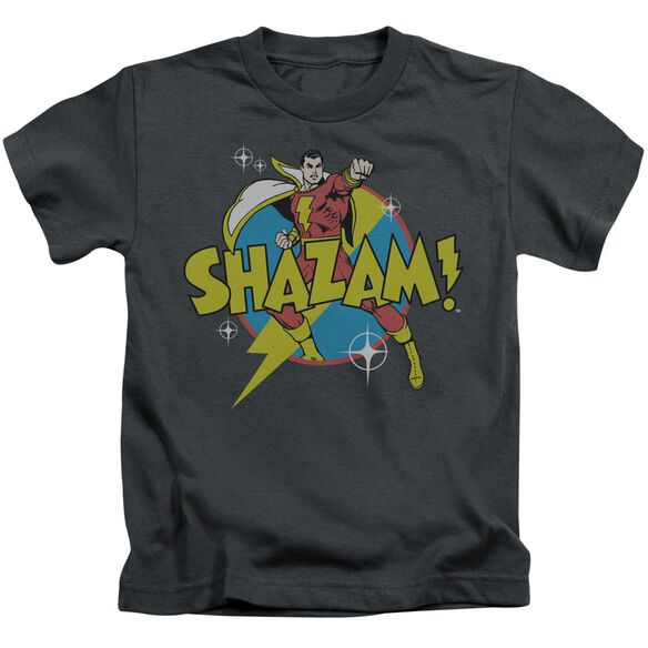 Dc Power Bolt Short Sleeve Juvenile Charcoal T-Shirt