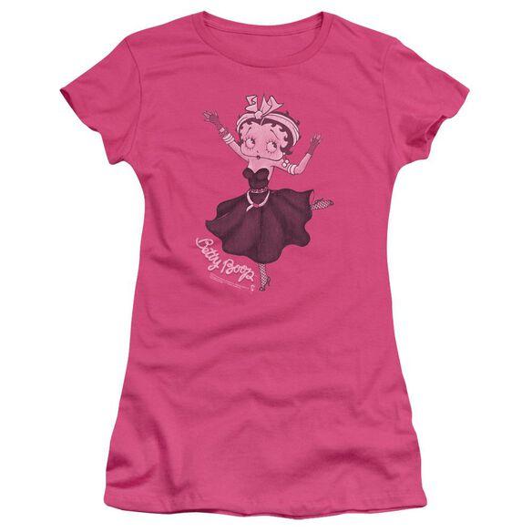 Betty Boop Gypsy Betty Short Sleeve Junior Sheer Hot T-Shirt