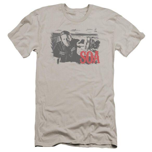 Sons Of Anarchy Jax Block Premuim Canvas Adult Slim Fit