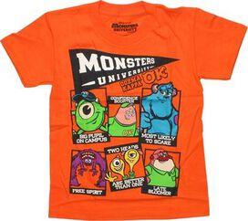 Monsters University Oozma Kappa Orange Juvenile T-Shirt