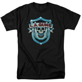 La Guns La Guns Shield Short Sleeve Adult T-Shirt