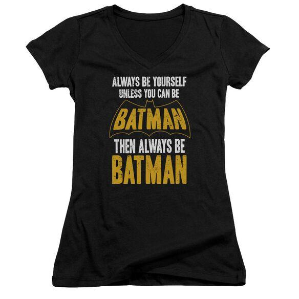 Batman Be Batman Junior V Neck T-Shirt