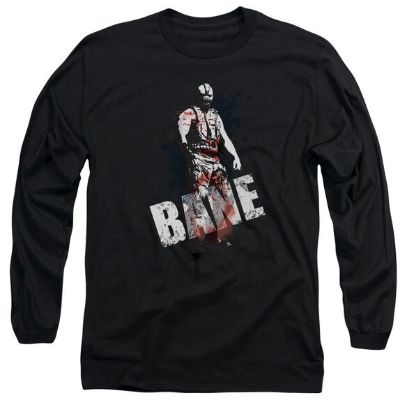 Dark Knight Rises Bane Splatter Long Sleeve Adult T-Shirt