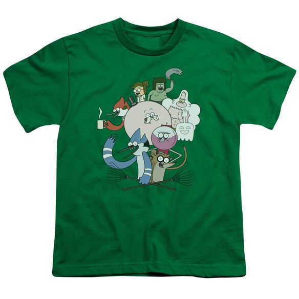 Regular Show Regular Cast Short Sleeve Youth Kelly T-Shirt