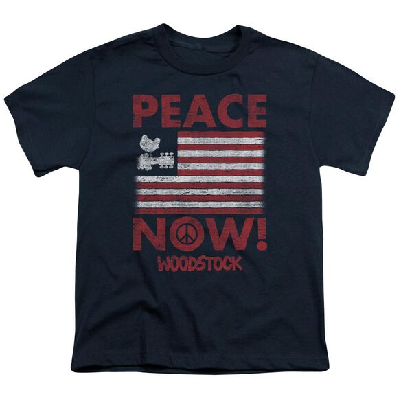 Woodstock Peace Now Short Sleeve Youth T-Shirt