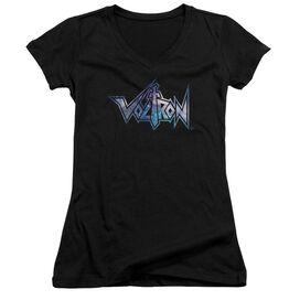 Voltron Space Logo Junior V Neck T-Shirt
