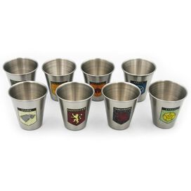 Game of Thrones - Great Houses of Westeros Shot Glass Collection [Set of 8]