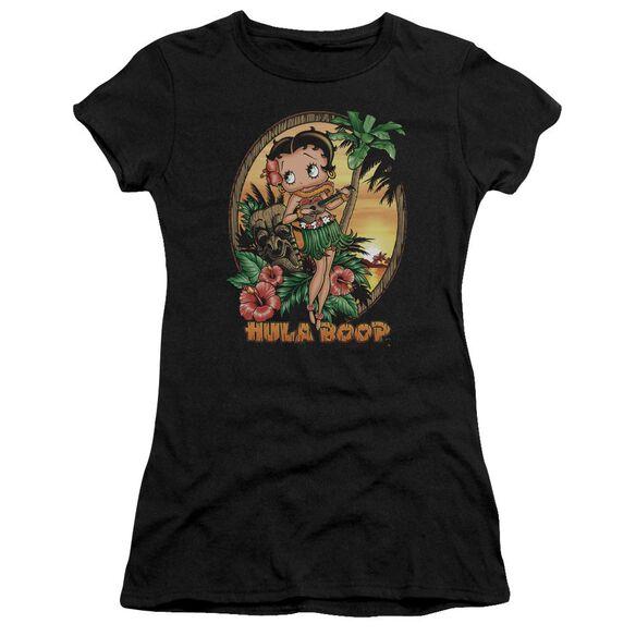 Betty Boop Hula Boop Ii Short Sleeve Junior Sheer T-Shirt