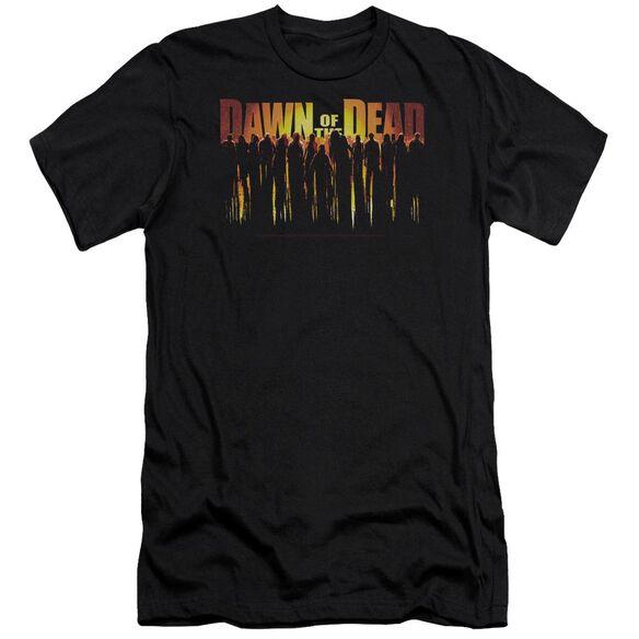 Dawn Of The Dead Walking Dead Premuim Canvas Adult Slim Fit