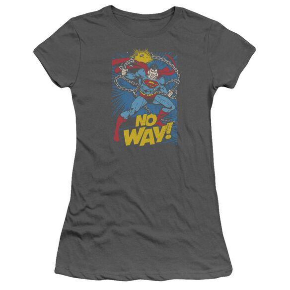 Dc No Way Short Sleeve Junior Sheer T-Shirt